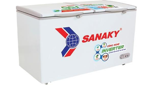 Tủ đông Sanaky Inverter 305 lít VH-4099A3 mặt nghiêng phải