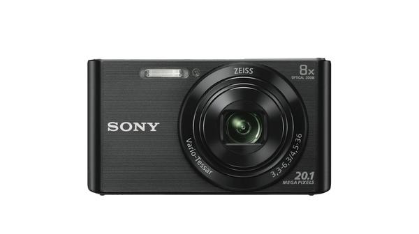 Máy ảnh Sony DSC-W830/BC E32 mặt chính diện