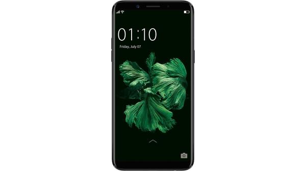 Điện thoại di động Oppo F5 6GB màu đen mặt trước