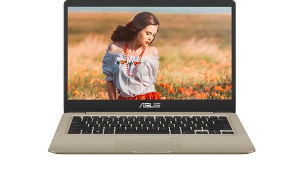 Laptop Asus VivoBook S14 S410UA - EB003T mặt trước