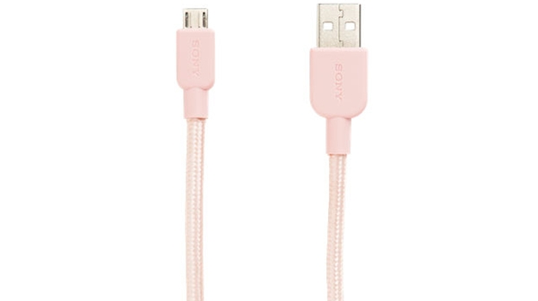 Cáp USB Sony CP-ABP150/PC WW màu hồng giá hấp dẫn tại Nguyễn Kim