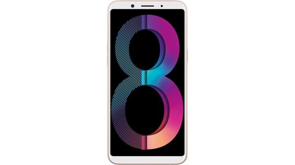 Điện thoại di động Oppo A83 màu vàng mặt trước