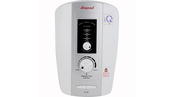 Máy nước nóng Legend LE-7000EP màu bạc mặt chính diện