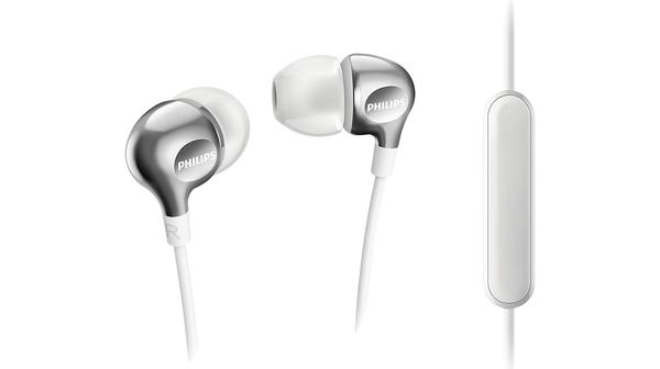 Tai nghe nhét tai có mic Philips SHE3705WT giá tốt tại Nguyễn Kim