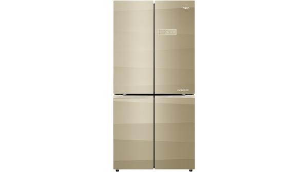 Tủ lạnh Aqua AQR-IG595AM (SG) màu vàng giá tốt tại Nguyễn Kim