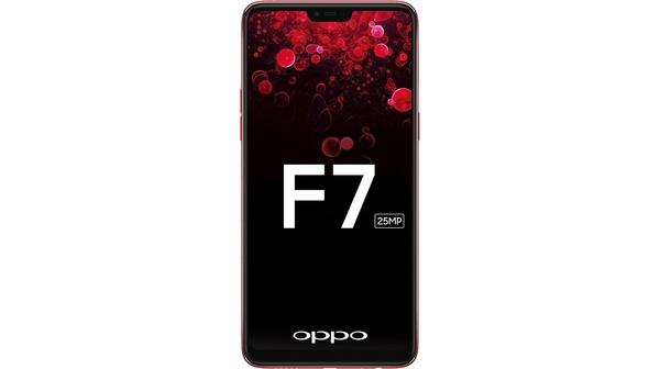 Điện thoại Oppo F7 màu đỏ chính hãng