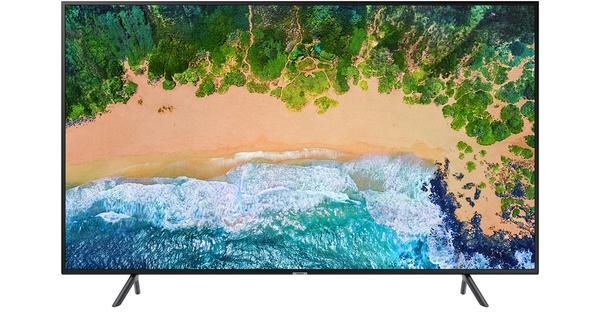 Smart tivi Samsung 55 inch UA55NU7100KXXV mặt trước