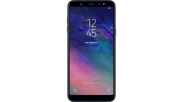 Điện thoại Samsung Galaxy A6+ màu xanh dương (2018) mặt trước