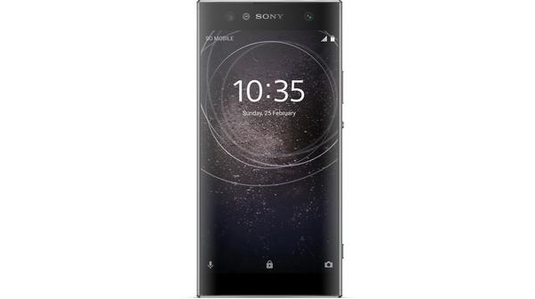 Điện thoại di động Sony Xperia XA2 Ultra màu đen mặt trước