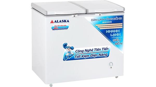Tủ đông Alaska BCD-3068C giá hấp dẫn tại Nguyễn Kim