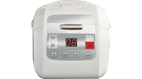Nồi cơm điện Philips 1 lít HD3030 mặt chính diện