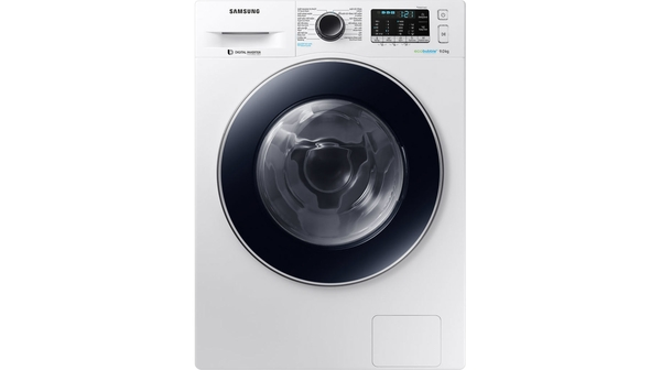 Máy giặt Samsung Inverter 9 kg WW90J54E0BW mặt chính diện
