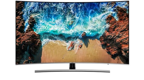 Tivi Samsung 55 inch UA55NU8500KXXV mặt trước