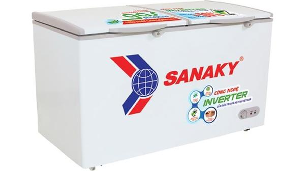 Tủ đông Sanaky Inverter 530 lít VH-6699HY3 mặt nghiêng phải