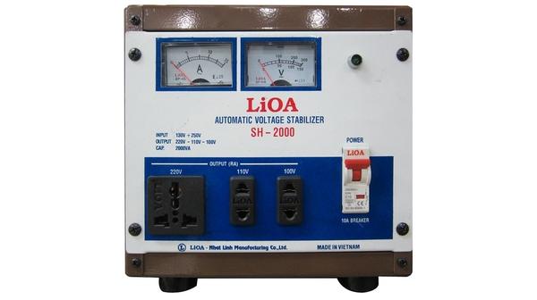 Ổn áp Lioa 1P SH-2KVA - SH-2000 giá ưu đãi tại Nguyễn Kim
