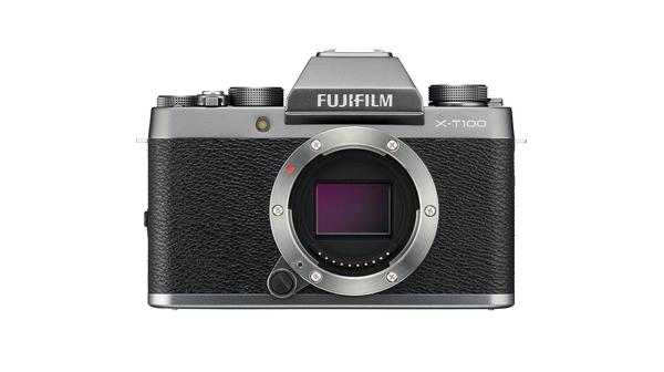 Máy ảnh Fujifilm X-T100 DS màu bạc đậm giá hấp dẫn tại Nguyễn Kim