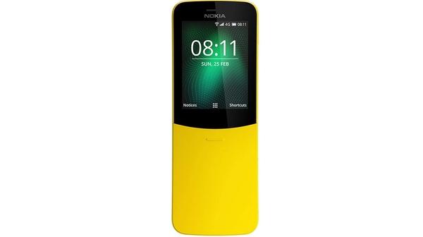 Điện thoại Nokia 8110 4G màu vàng