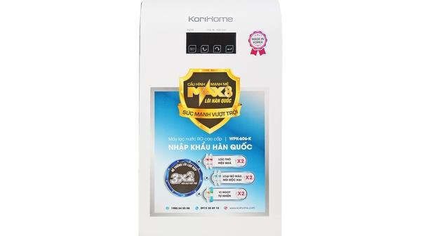 Máy lọc nước Korihome WPK-606-K giá tốt tại Nguyễn Kim