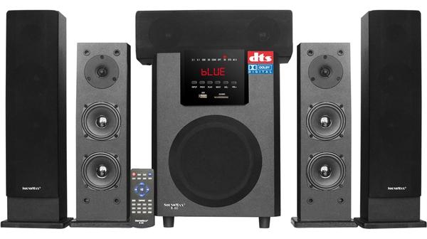 Loa vi tính Soundmax B60/5.1 màu đen giá tốt tại Nguyễn Kim