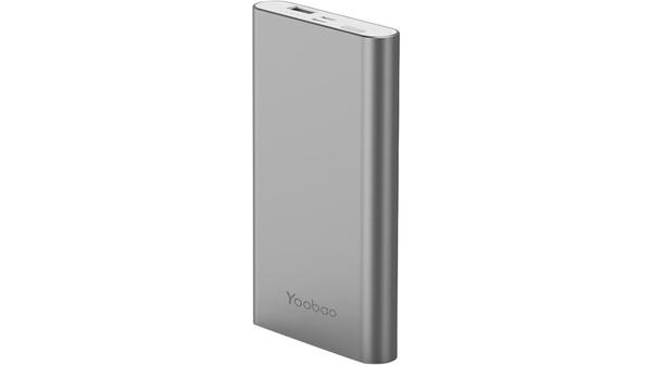 Pin sạc dự phòng Yoobao PL10 màu xám có dung lượng 10.000 mAh