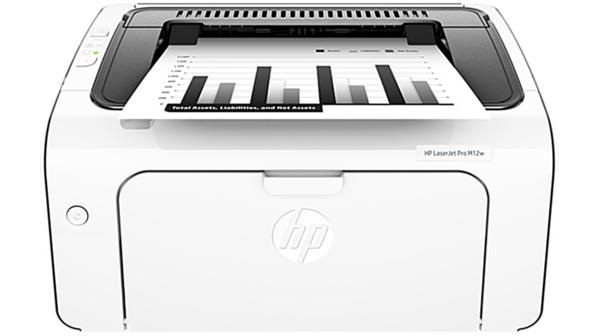 Máy in Laser đen trắng HP Laserjet Pro M12W giá rẻ tại Nguyễn Kim