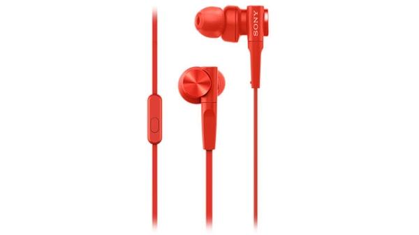 Tai nghe Sony MDRXB55AP/RQE màu đỏ giá khuyến mãi tại Nguyễn Kim