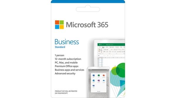 Phần mềm Microsoft Office 365 Business Standard mặt trước