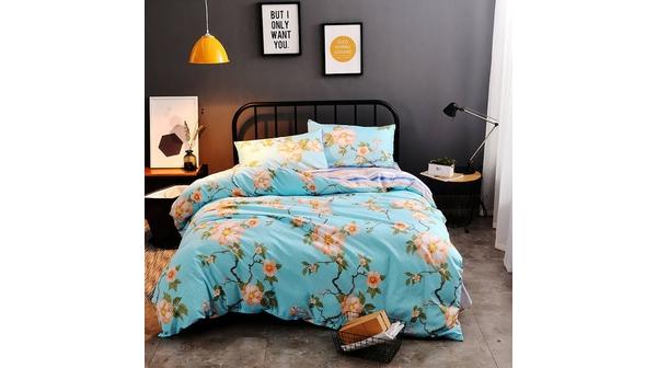 Bộ Drap Áo Gối Và Mền Chần Nin Calisto 160*200+30cm