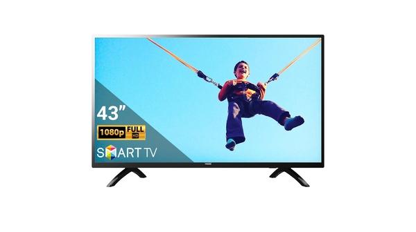 Smart Tivi Philips 43 Inch 43PFT5853S/74 mặt chính diện
