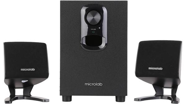 Loa vi tính Microlab M-108BT màu đen giá ưu đãi tại Nguyễn Kim