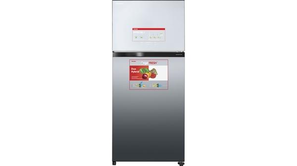 Tủ lạnh Toshiba Inverter 608 lít GR-AG66VA (X) mặt chính diện