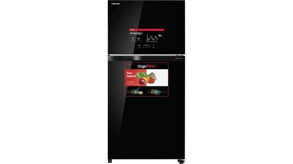 Tủ lạnh Toshiba Inverter 555 lít GR-AG58VA (XK) mặt chính diện