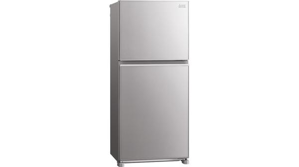Tủ lạnh Mitsubishi Electric Inverter 344 lít MR-FX43EN-GSL-V mặt nghiêng phải