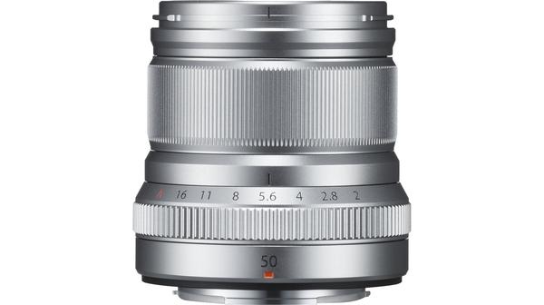 Ống kính Fujifilm XF50MM F2 Bạc giâ rẻ tại Nguyễn Kim