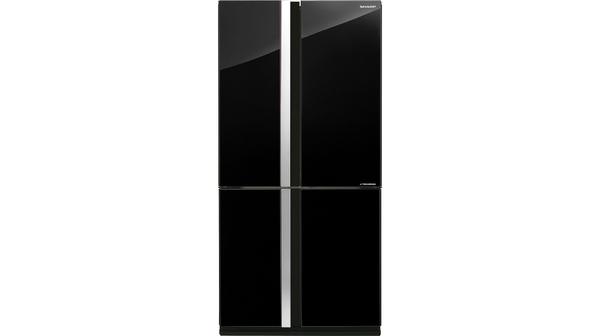 Tủ lạnh Sharp Inverter 678 lít SJ-FX688VG-BK mặt chính diện