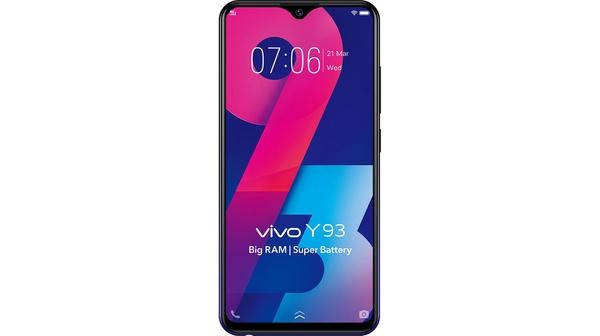 Điện thoại Vivo Y93 đen chính hãng tại Nguyễn Kim