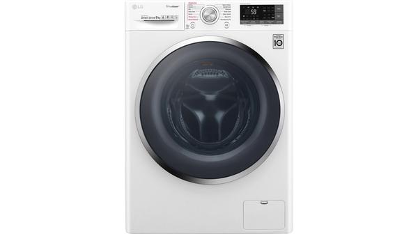 Máy giặt LG Inverter 9 kg FC1409S4W mặt chính diện