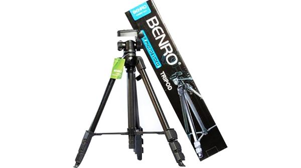 Chân máy ảnh Benro Mini Tripod T880EX cho phép kéo dài, mở rộng dễ dàng