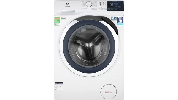 Máy giặt Electrolux Inverter 8 kg EWF8024BDWA mặt chính diện
