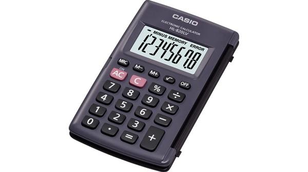 Máy tính Casio HL-820LV-BK giá rẻ tại Nguyễn Kim