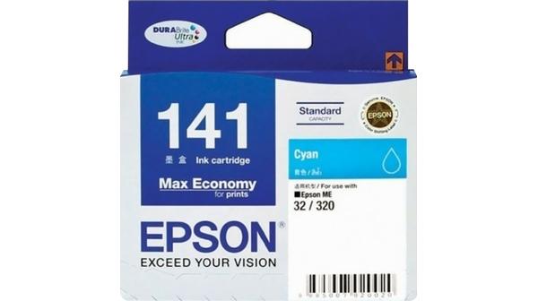 Mực in màu xanh EPSON C13T141290