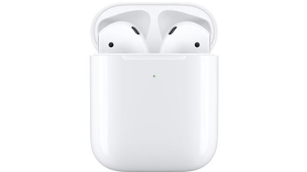 Tai nghe Bluetooth Airpods 2 sạc không dây MRXJ2VN/A mặt chính diện