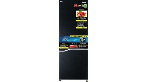 Tủ lạnh Panasonic Inverter 290 lít NR-BV320GKVN mặt chính diện