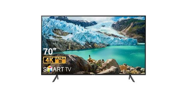 Smart Tivi Samsung 4K 70 inch UA70RU7200KXXV mặt chính diện