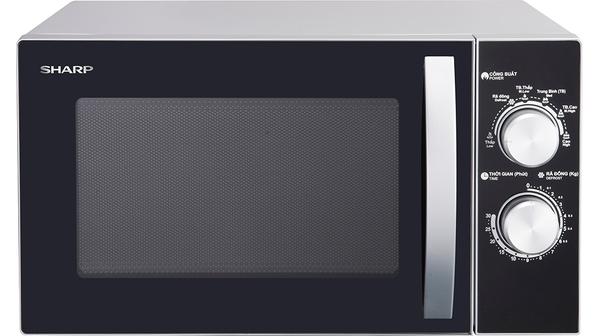 Lò vi sóng Sharp 23 lít R31A2VN-S mặt chính diện