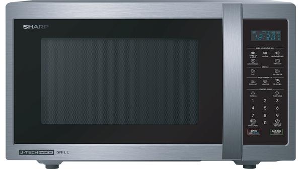 Lò vi sóng Sharp 25 lít R-G52XVN-ST sở hữu thiết kế nhỏ gọn