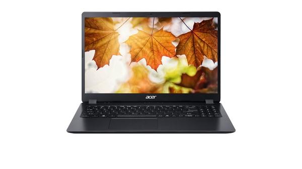 Laptop Acer Aspire 3 A315-54-57PJ i5-8265U 15.6 inch mặt chính diện