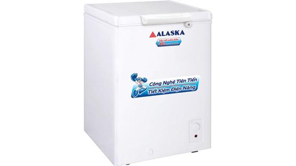 Tủ đông Alaska 150 lít BD-150 mặt nghiêng trái