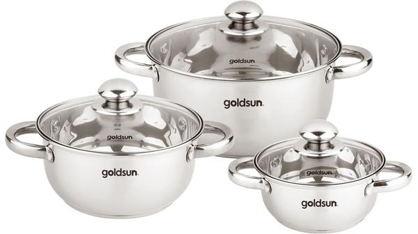 Bộ 3 nồi inox Goldsun GE40-3306SG