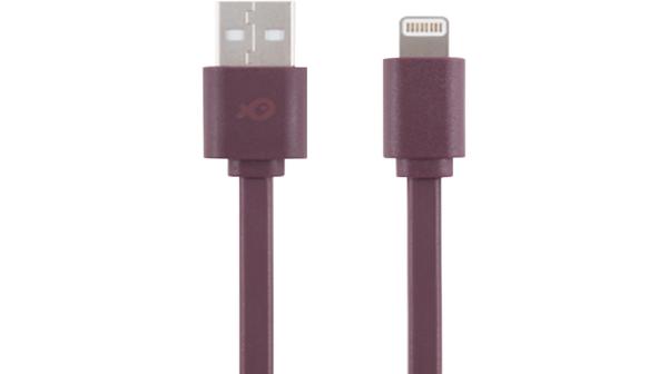 Cáp Poss 20cm Lightning to USB A Rouge PSL-20RD